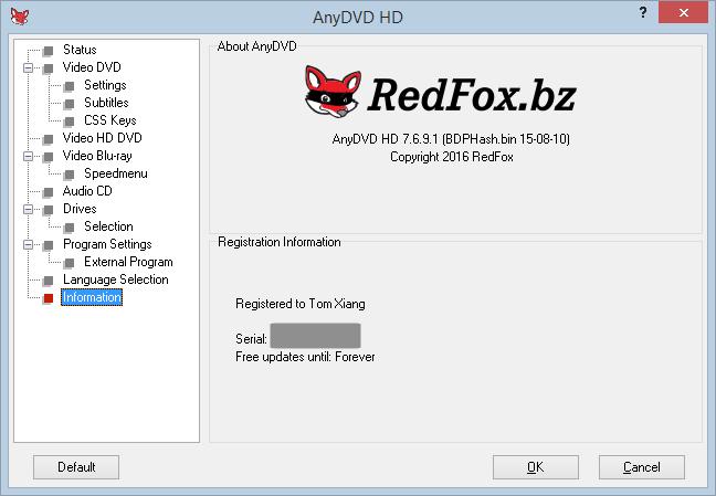 AnyDVD HD 8.5.7.1 Crack Plus Full Keygen Free Version 2021